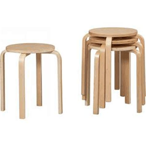 Stacking Stools by Stackable Stools Brentwood Stacking Set Of 4 Stool 1771