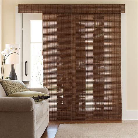 bamboo curtains for sliding glass doors bamboo sliding door panels jacobhursh