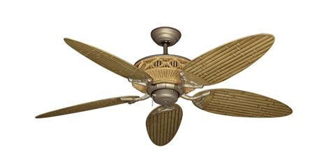 tropical ceiling fan blades tiki outdoor tropical ceiling fan with 52 inch bamboo