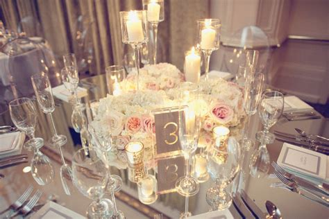 table mirror centerpiece mirrored tables bright occasions