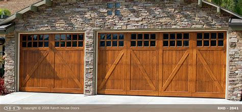 Ranch House Garage Doors by Ranch House Doors Product Overview