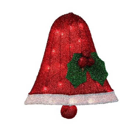 Tinsel Icon Lighted Bell Christmas Decoration Classics At Lighted Bells
