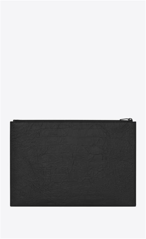 Laurent Monogram Document Holder