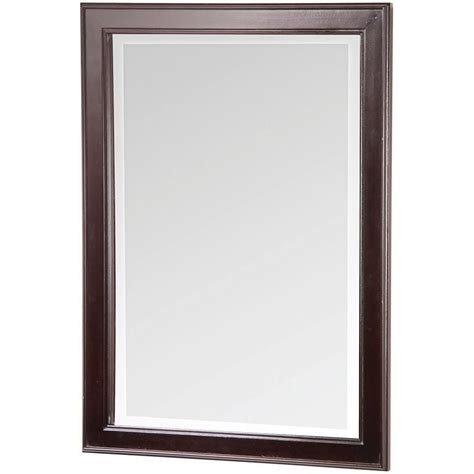 bathroom mirrors home depot foremost international gazette beveled mirror the home