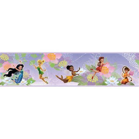 disney roommates wallpaper roommates disney fairies peel and stick wallpaper border