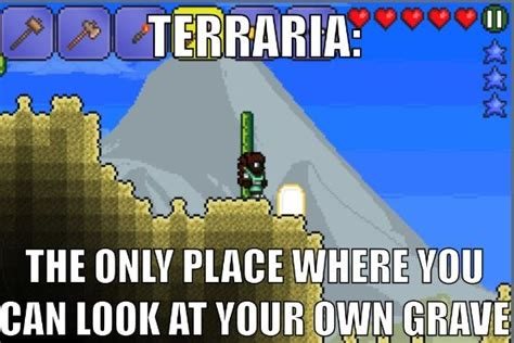 Terraria Memes - 17 best images about fnaf terraria minecraft attack on
