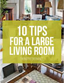 How To Arrange A Small Sitting Room - 10 tips for styling large living rooms amp other awkward spaces the inspired room