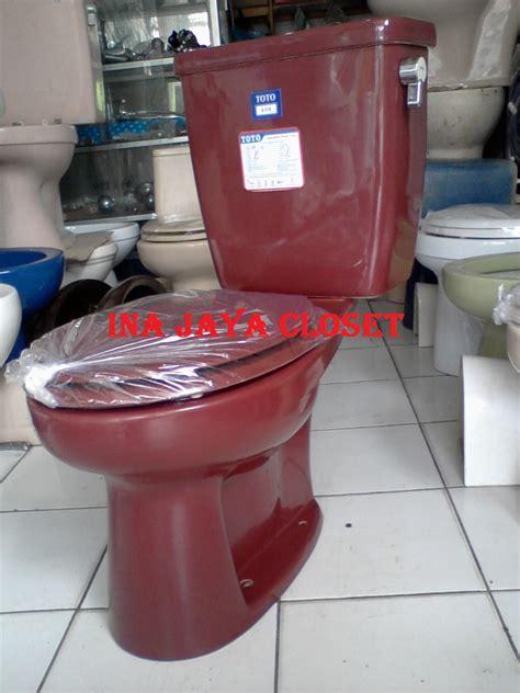 Jual Timbangan Duduk Second ina jaya closet closet duduk toto s516j merah maroon