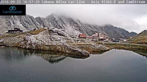 web balea lac romania live balea