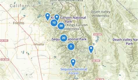sequoia national park map best trails in sequoia national park alltrails