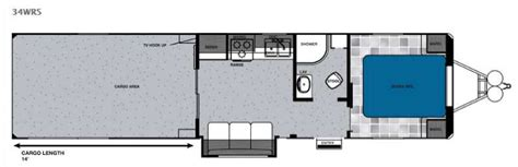 work and play floor plans work and play toy hauler travel trailer rv sales 2