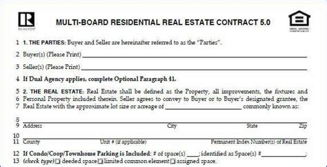 house buying contract sle when buying a house what does contract 28 images doc 696900 property management