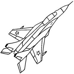 airplane coloring pages free coloring pages of plane outline