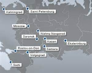 world cup host cities map 19 best images about fifa 2018 russia on football soccer moscow and russia