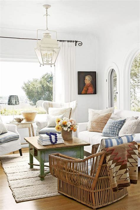 Shabby Chic White 5164 by 5164 Best Cozy Cottage Living Rooms Images On