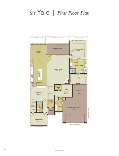 gehan floor plans yale home plan by gehan homes in the commons at rowe lane