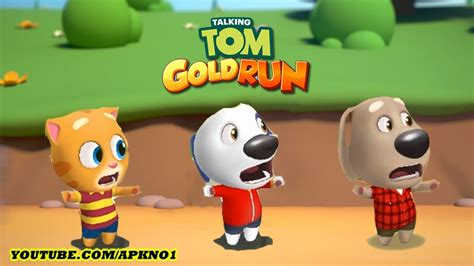 talking android talking tom gold run android gameplay talking vs talking hank vs talking ben ep 2