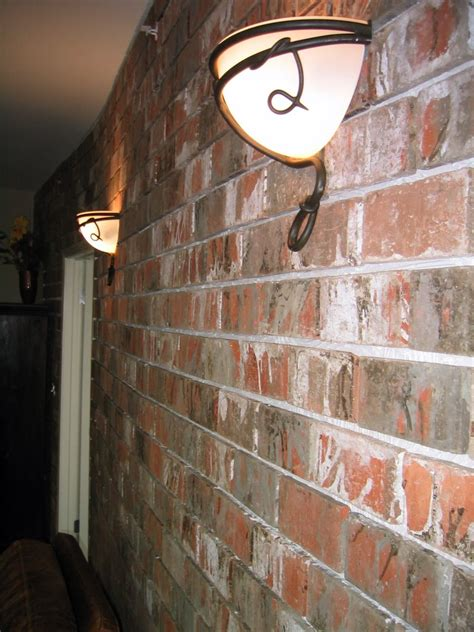 Installing An Interior Wall by Installing An Interior Brick Wall Aka The Warehouse