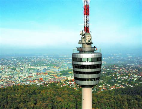 fernsehturm stuttgart fernsehturm stuttgart erh 228 lt als drittes bauwerk den titel