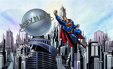 cityscape wall mural superman cityscape yh1477m wall mural