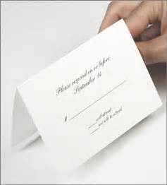 wedding response card template a1 cards a1 blank rsvp cards
