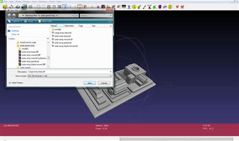 tutorial c stl sketchup stl export tutorial