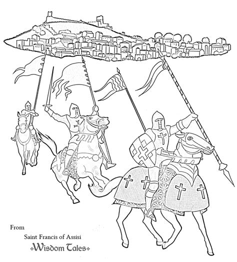 free feast of st francis coloring pages