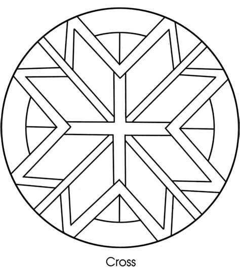 free coloring pages of celtic crosses
