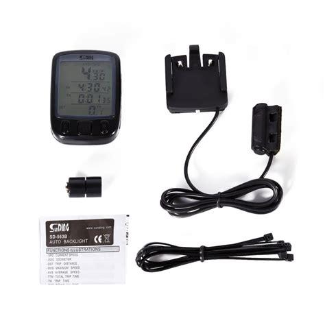 Speedometer Sepeda Backlight Lcd Sd 563b speedometer sepeda backlight lcd sd 563b black jakartanotebook