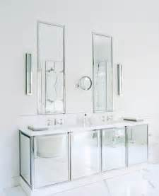 mirrored bathroom vanity cabinets cococozy this or that which mirrored bath