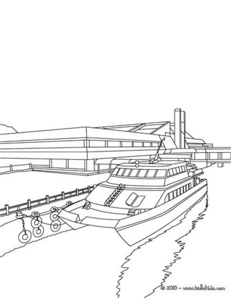 speedboot zum ausmalen pier mit boot zum ausmalen zum ausmalen de hellokids