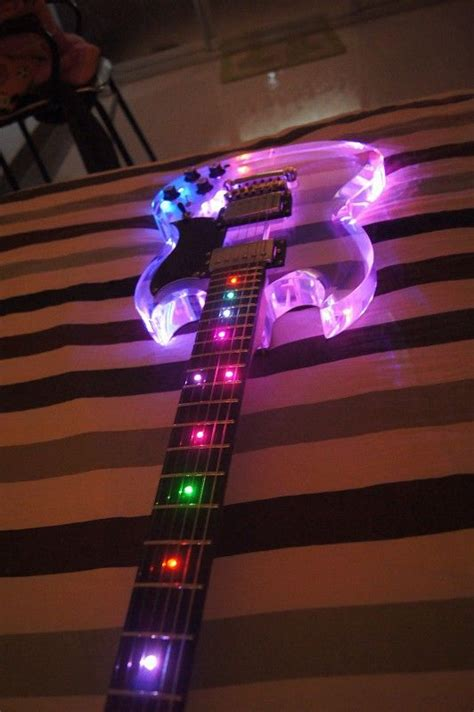 The Light Like A Guitar Only With Light by Guitar Led Penelusuran Instru Mental