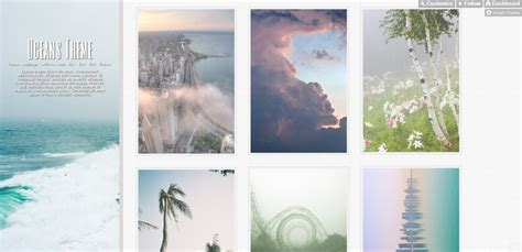 tumblr themes image gallery image gallery ocean tumblr themes