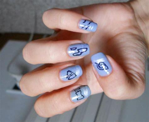 naruto nail art tutorial naruto nails by ghostprincess91 on deviantart