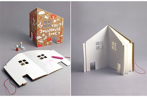 a doll house book the dollhouse book features blank pages for kids to design a dream abode inhabitots