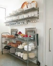Kitchen Wire Shelving by Creative Kitchen Storage Ideas From Pinterest Dig This