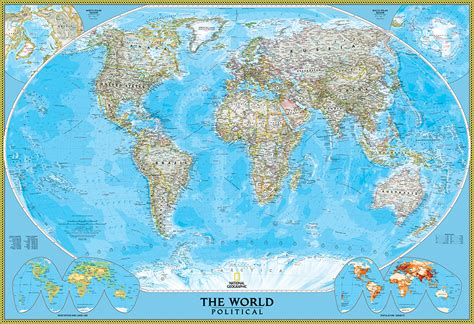 world of rivers map national geographic national geographic classic world map