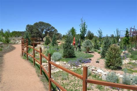 Left Of Entrance Picture Of Santa Fe Botanical Garden Santa Fe Botanical Garden
