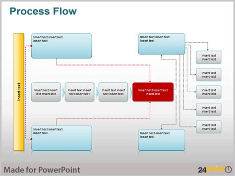 process flow diagram ppt use process flow illustrations to communicate complex