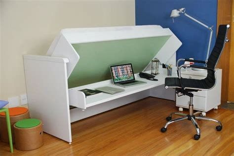 space saving desk bed ulisse bed and desk space saving system amazing white
