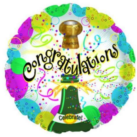 Congratulations balloon in box
