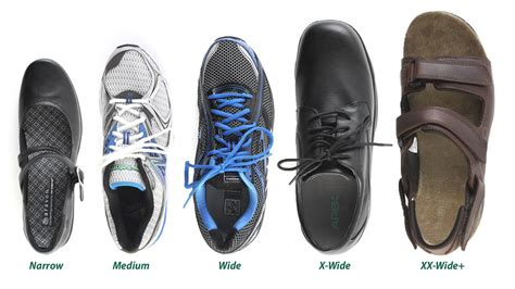 wide shoes shoe widths explained