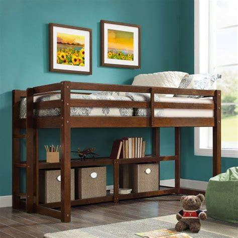 home loft bed frame loft storage twin size loft bed