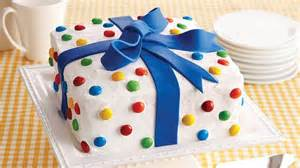 Birthday Cake Birthday Present Cake Recipe From Betty Crocker