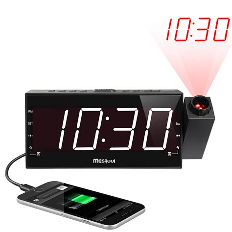 top 10 best projection clocks reviews in 2018 wirevibes