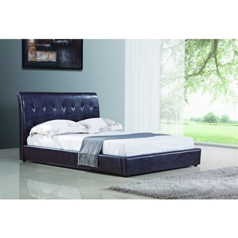 harmony beds 4 6 harmony leather double bed