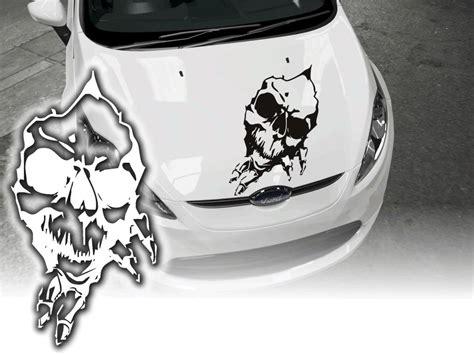 Motorhauben Aufkleber Totenkopf by Aufkleber Motorhaube Skull Totenkopf Sticker 60cm