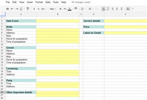 5 Steps to Manage Wedding Clients with Gmail and Google