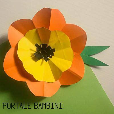 costruire fiori di carta fiori di carta guida passo a passo portale bambini