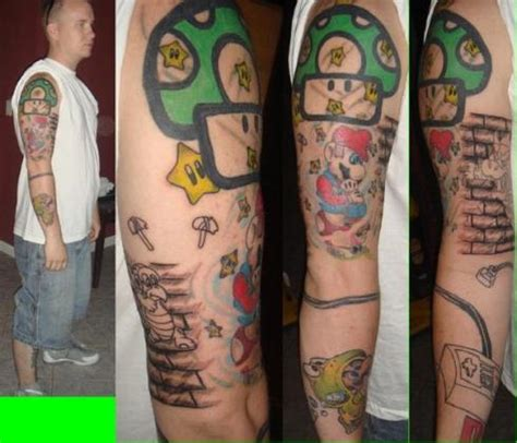cartoon tattoo sleeve sleeve tattoos sleeve tattoos gallery
